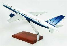 B757-200 United - Premium Wood Designs #Commercial #Aircraft premiumwooddesigns.com