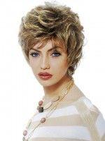 latest wavy short hair cuts for women