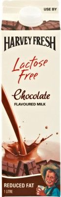 Harvey Fresh Lactose Free Chocolate Flavoured Milk 1L