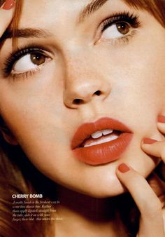 Cosmopolitan Editorial Lips He'll Love, July 2011 Shot #1