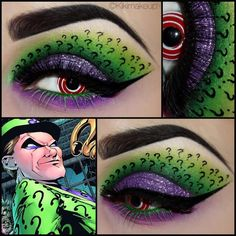 The Riddler | KIϟKI MAKEUP