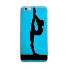 Gymnastics iPhone case This case is sleek and light. Its solid, one-piece…