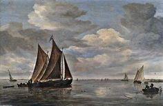 """Going Fishing"", charbon de bois de Piet Mondrian (1872-1944, Netherlands)"