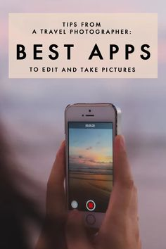 Looking to take and edit pictures like a pro? Here are the best photo editing apps that will make your phone photos look like they were shot by a professional! Free Editing Apps, Good Photo Editing Apps, Photo Edit Apps, Best Photo App, Photography Editing Apps, Photography Tips, Iphone Photography, Photography Business, Photography Challenge