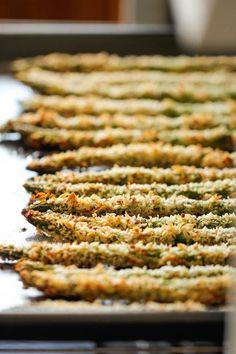 Baked Asparagus Fries Recipes