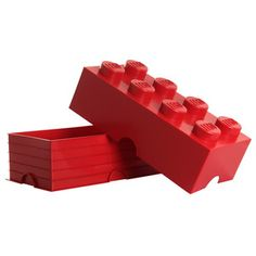 Storage Brick Large Red now featured on Fab.