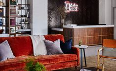 New Haven Hotel | New Haven Boutique Hotel | The Blake Hotel Whiskey Room, Hotel Sites, Deep Soaking Tub, Hotels, Luxury Accommodation, Rooftop Bar, Kitchenette, Elegant Homes, Fashion Room