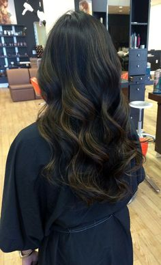 Balayage is the new trend! Gabby used this technique to break up her client's darkness so she could be lighter but still natural for the summer. Also used Olaplex to keep her integrity strong!