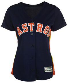 3e1ea1450 Majestic Women s Houston Astros Cool Base Jersey - Blue S