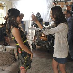 #Sparia is real. On and off screen. ❤️ #BehindTheScenes #PLLMemoryLane 41 of 150 // Season 2, Episode 19. #PLL #PrettyLittleLiars