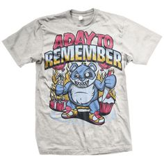 A Day To Remember Cupcake Bear T-Shirt