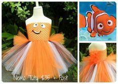 Finding Nemo Tutu by BootiTutu on Etsy