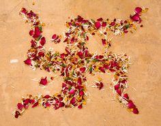 Hindu Swastika, Jaipur, India, via Flickr.