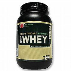 To get strong, you need to start strong. Optimum Nutrition's 100% Natural Whey Protein provides nutritional support for your fitness and strength building goals.