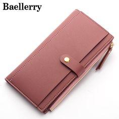 Baellerry Frauen Brieftaschen Mode Leder Geldbörse Weiblichen handtasche Frauen Clutch Geldbörsen Geldbeutel Damen Kartenhalter WWS049