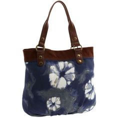 Lucky Brand 'Trippin Out - Large' Cotton Canvas Tote