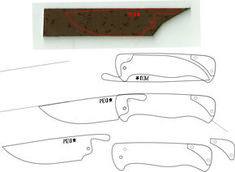 Friction Folding Knife Template