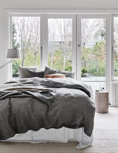 Abode Living - Quilt Cover - Franca Italian Linen Quilt Cover  - Abode Living