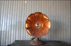 Scalloped Refurbished Fan // Upcycled Lamp by buffalowinter, $128.00