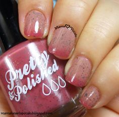 Mama Hearts Polish: Pretty & Polished That's Crantastic swatch and review.