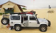 Land Rover Defender 110 - Fits Family of Five Camping Stockton Beach NSW Australia