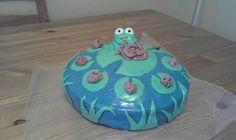 Fondant Frog Birthda