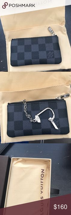 Louis Vuitton Key Pouch Great Condition!! Louis Vuitton Accessories Key & Card Holders