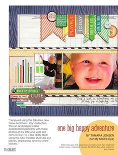 ISSUU - CREATE: Issue 2, February 2014 by Scrapbook Generation