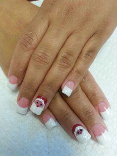 Santa nails designs