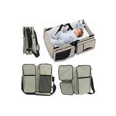 3 In 1 Travel Bassinet Diaper Bags & Portable Crib Infant Bed Changing Station Nursery Travel Bed By Wxdz - Sears