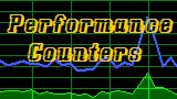 Performance Counters : CPU, Memory, Disk, Database, Cache