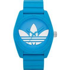 #AdidasOriginalsWatches, #FashionAccessories, #Watches - adidas originals Watches Santiago Light Blue with White - adidas originals Watches Watches