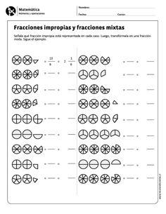 Fracciones impropias y fracciones mixtas