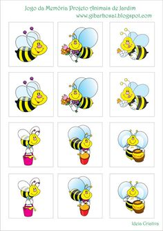 Bees memory preschool