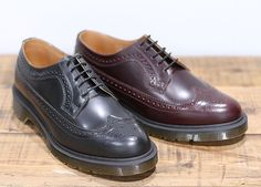 Dr. Martens Wingtip Shoes Fall/Winter 2011