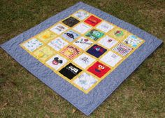 Baby Clothes Memory Quilt -Made to Order-Breaux Bunch Quilts