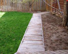 Attractive Wooden Walkway Garden   Google Search