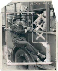 The Cameraman publicity still, 1928 - Buster Keaton