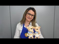 Ursinho Fofinho de 19 cm ideal para Topo de Bolo com Paty Boucinha. - YouTube