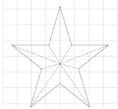 How to make a Christmas star: cositasconmesh Como hacer una estrella navideña : cositasconmesh How to make a Christmas star: cositasconmesh Christmas Classroom Door, Noel Christmas, Christmas Snowflakes, Christmas Wreaths, Christmas Crafts, Christmas Decorations, Star Template, Diy And Crafts, Paper Crafts