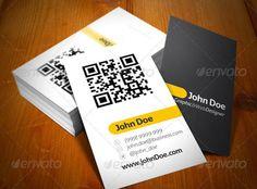 Dch v in th nha m qr code chuyn nghiptpthegioithenhua 17 high quality qr code business card templates graphic design resources flashek Gallery