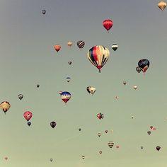 beautiful air balloons