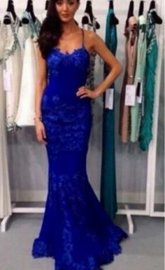 2016 Royal Blue Long Mermaid Prom Dresses For Teens,Sexy Evening Dresses,Backless Prom Gowns,Party Dresses sold by Shop more products from on Storenvy, the home of independent small businesses all over the world. Royal Blue Prom Dresses, Prom Dresses For Teens, Prom Party Dresses, Sexy Dresses, Beautiful Dresses, Prom Gowns, Dress Prom, Graduation Dresses, Sleeve Dresses