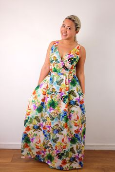 35f6f7fe50400 By Hand London s Flora turned maxi dress! By Hand London