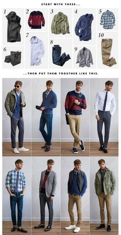 Banana Republic - Ten Pieces - SS16 #mensfashion #outfit