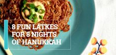 Hanukkah starts next Tuesday December so besides the latke frying and sufaniyot scarfing, better . Hanukkah Recipes, Hanukkah Food, Jewish Recipes, Crazy Night, Yom Kippur, Jewish Food, Rosh Hashanah, Chock Full, Judaism
