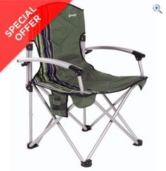 Outwell Fountain Hills Folding Chair (Green) | GO Outdoors