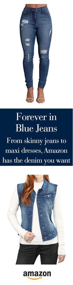Have we got denim? Designer fashions, overwashed, distressed, skinny, boyfriend, jackets, dresses--yeah, we've got denim...