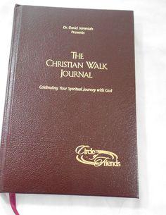 The Christian Walk Journal David Jeremiah Religious Spiritual Devotional Book