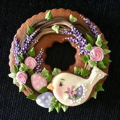 Elegant Cookies, Fancy Cookies, Valentine Cookies, Cute Cookies, Easter Cookies, Royal Icing Cookies, Bird Cookies, Flower Cookies, Cupcake Cookies